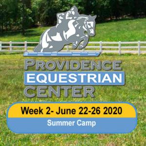 Camp Week 2- June 22-26 2020