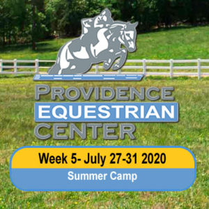 Camp Week 5- July 27-31 2020