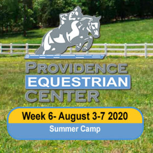Camp Week 6- August 3-7 2020